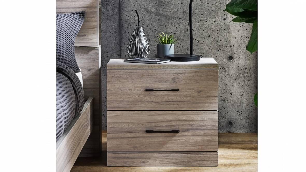 Sintre 2-Drawer Bedside Table