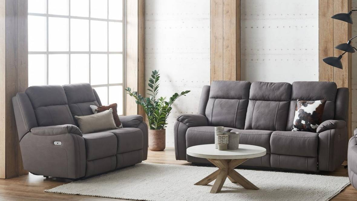 Matinee Fabric Powered Recliner Sofa