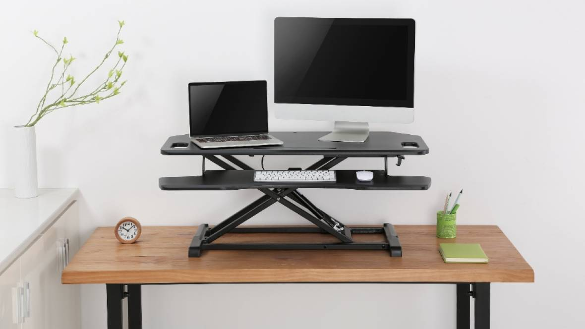 Sit-to-Stand Desk Mount