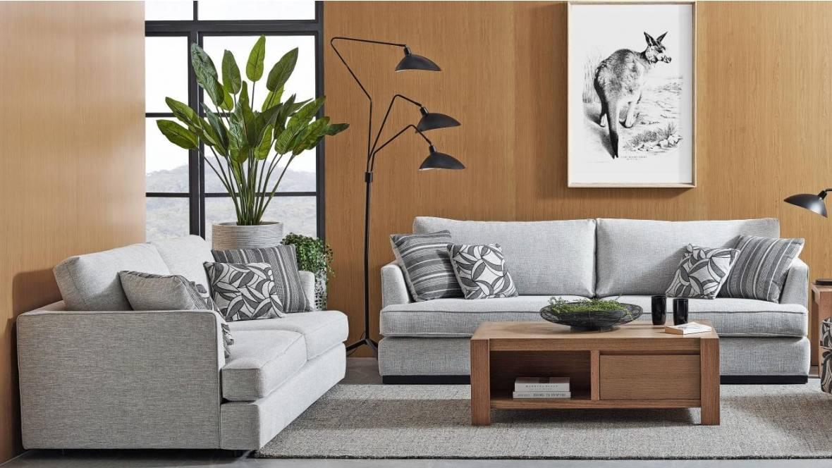 Portsea Fabric Sofa