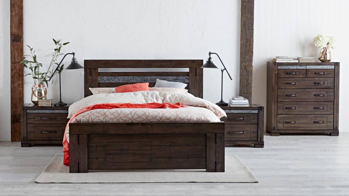 Charlie 4-Piece Queen Bedroom Suite