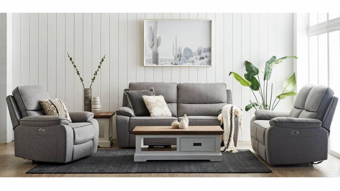 Buy Metropole Powered Recliner Sofa Harvey Norman Au