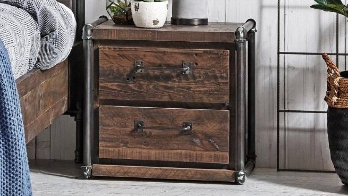 Urban 2-Drawer Bedside Table