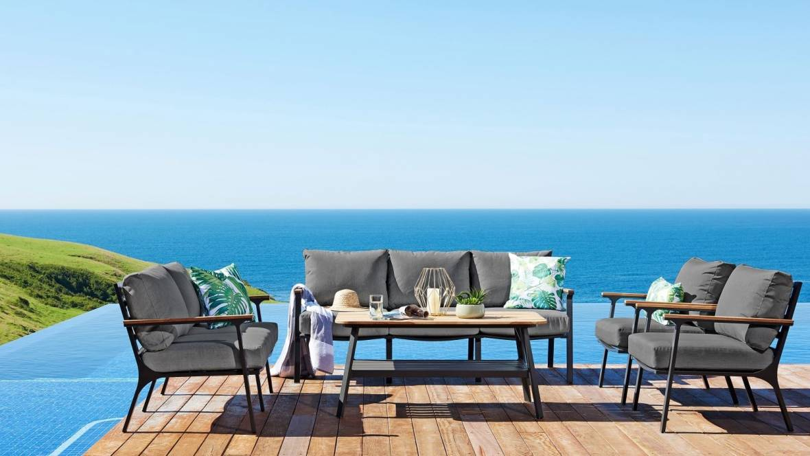 Buy Concorde Outdoor Lounge Setting Harvey Norman Au