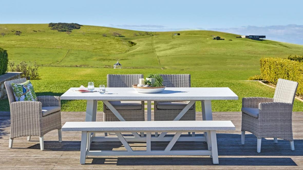 Sonic 6-Piece Outdoor Dining Setting