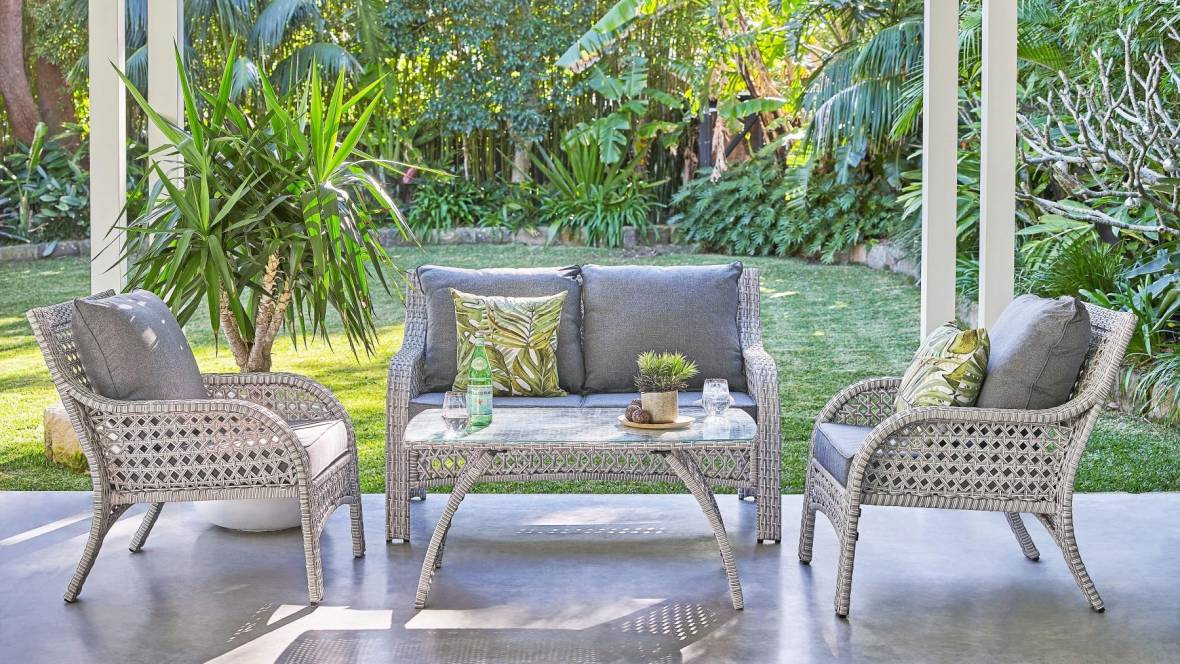 Fraser 4-Piece Outdoor Lounge Setting