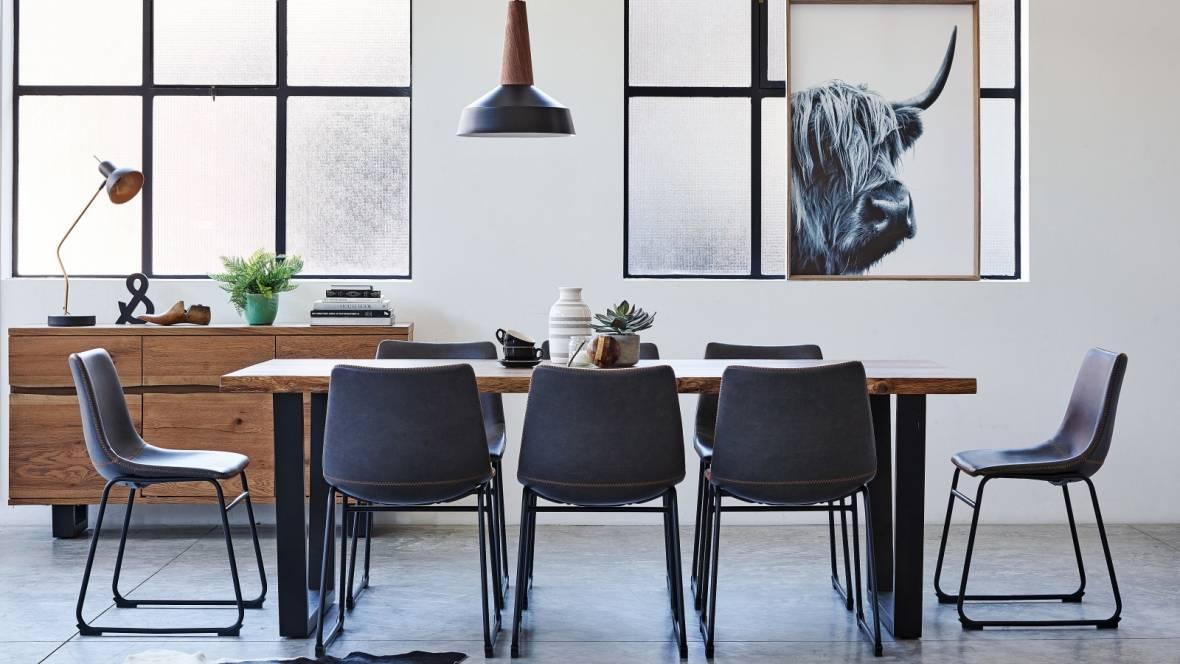 Timo 9-Piece Rectangular Dining Suite