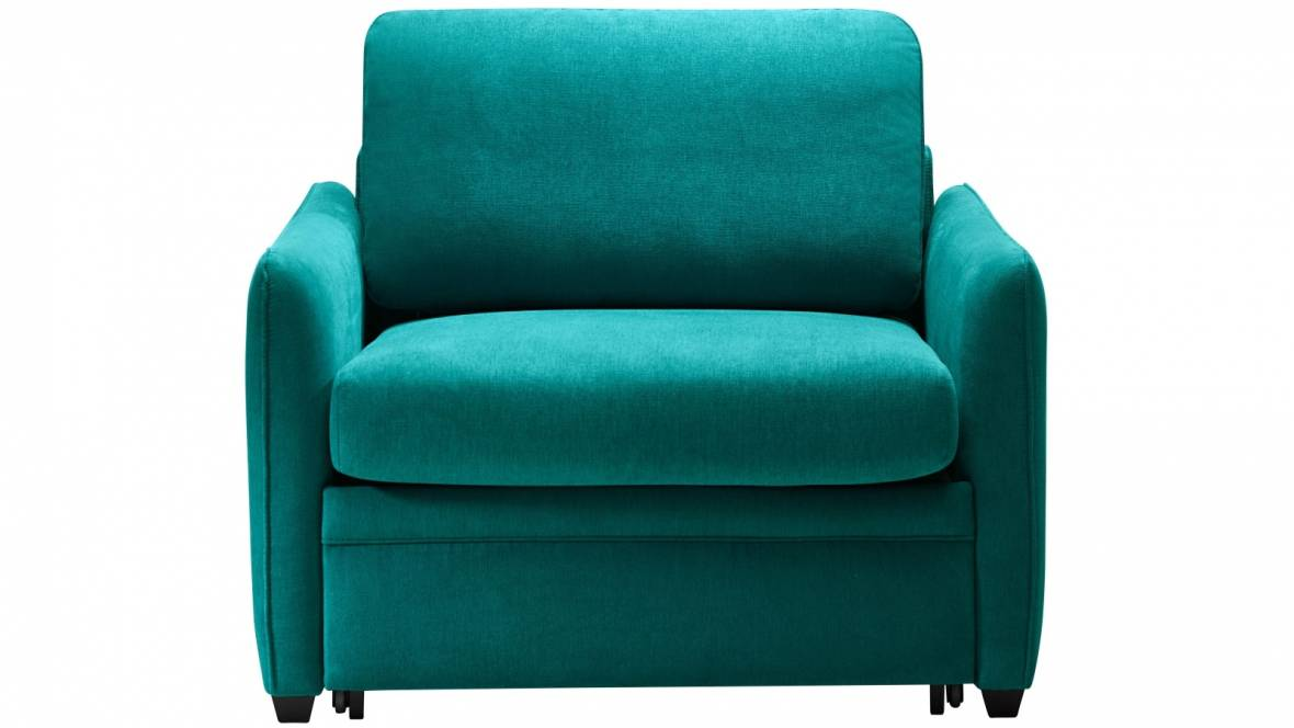 Zac Fabric Single Sofa Bed