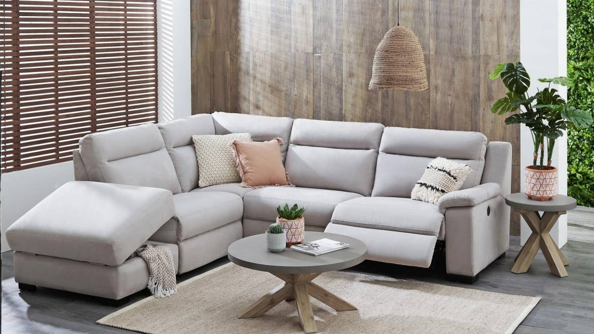 Boulevard 5-Piece Modular Recliner Sofa with Chaise