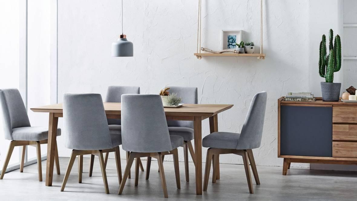 Tempo 7-Piece Rectangular Dining Setting