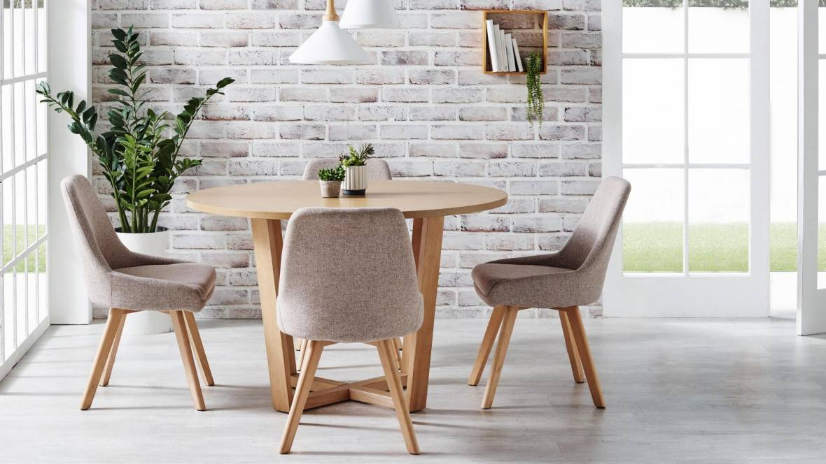 Dante 5-Piece Round Dining Setting