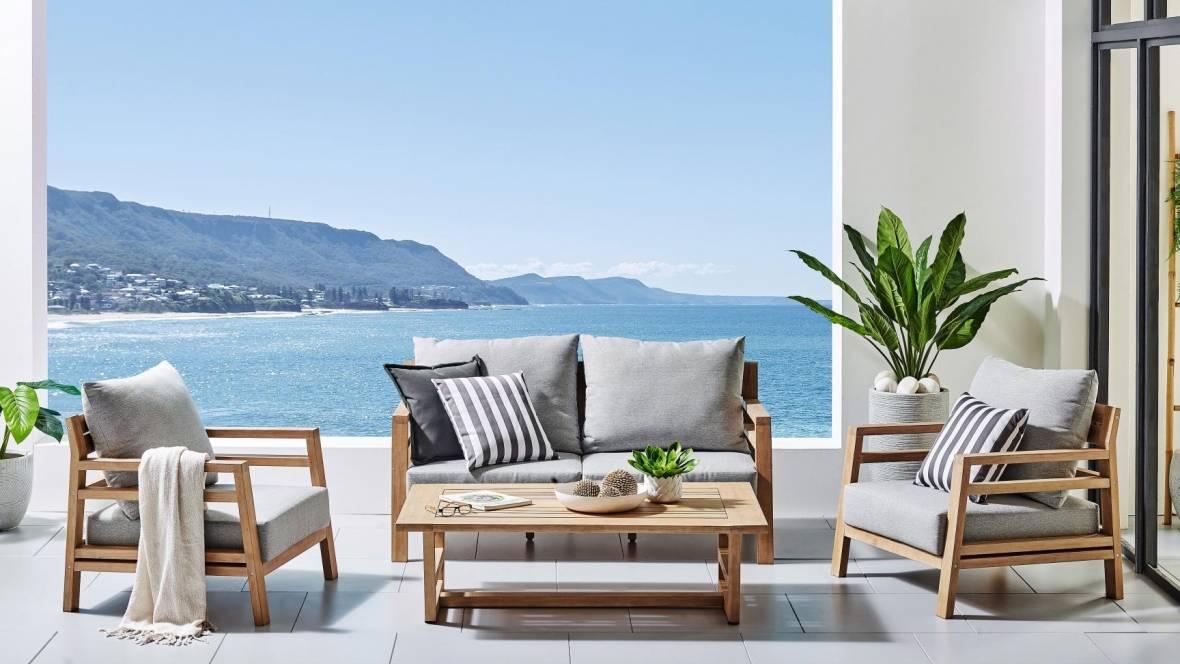 Telo 4-Piece Outdoor Lounge Setting