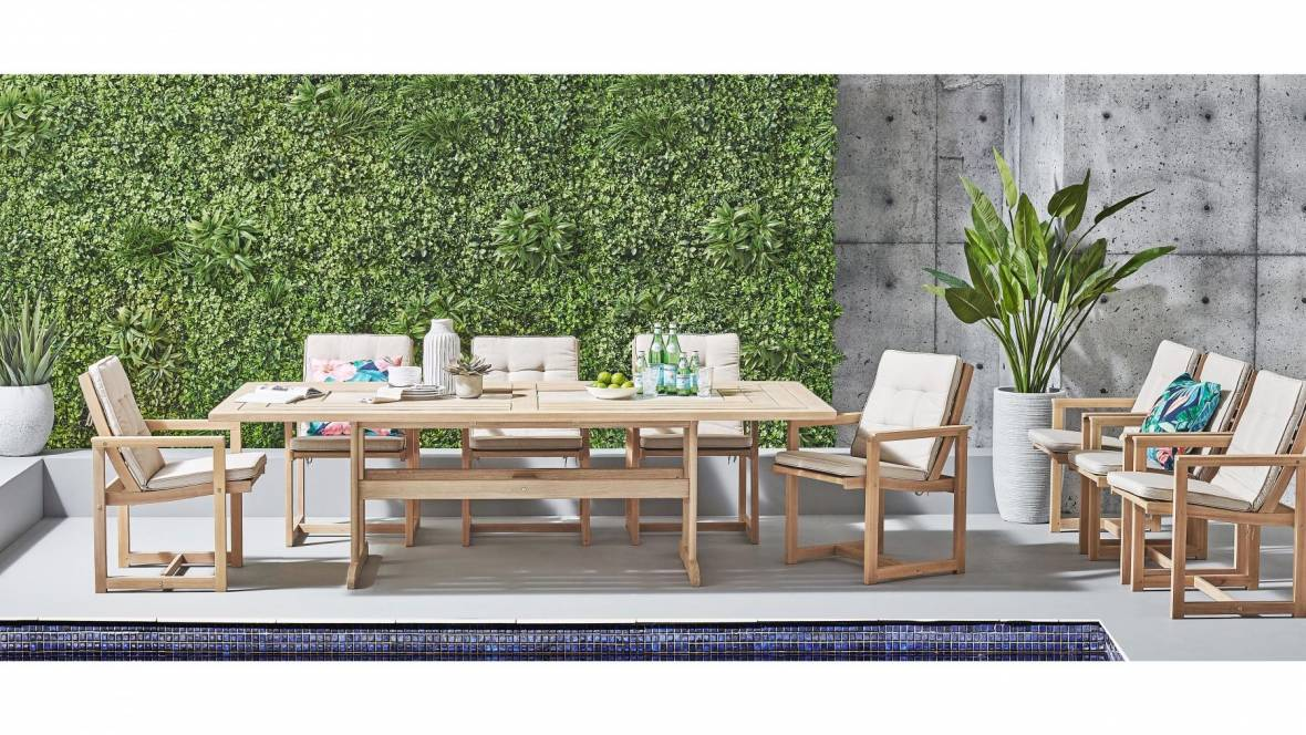 Blaze Outdoor 9-Piece Dining Setting