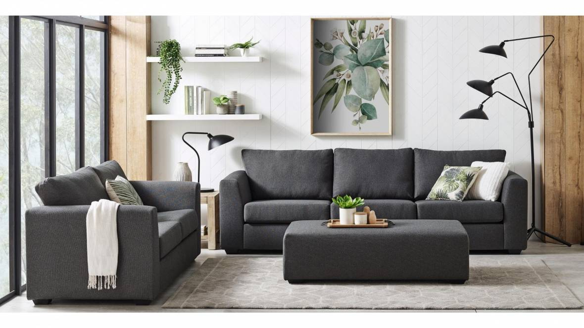 Primo 3-Piece Fabric Lounge Suite