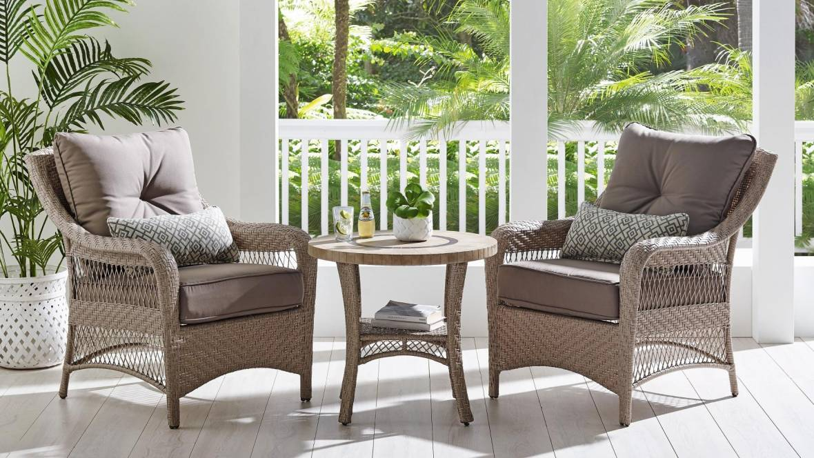 Barbuda 3-Piece Outdoor Chat Setting