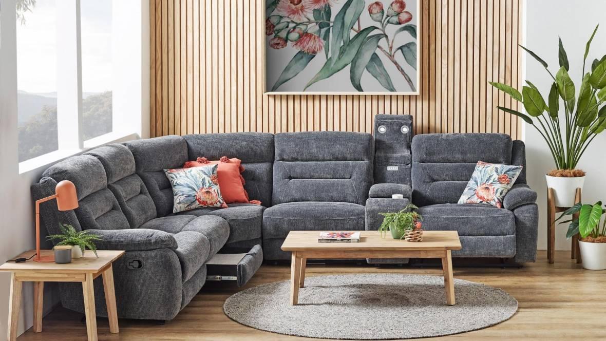 Grace 5-Seater Recliner Modular Sofa