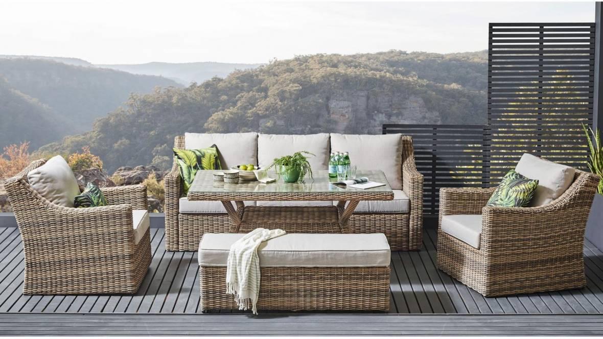 Andina 5-Piece Outdoor Lounge/Dining Setting