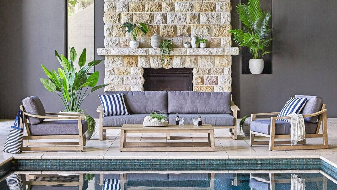 Angkor 4-Piece Outdoor Lounge Setting