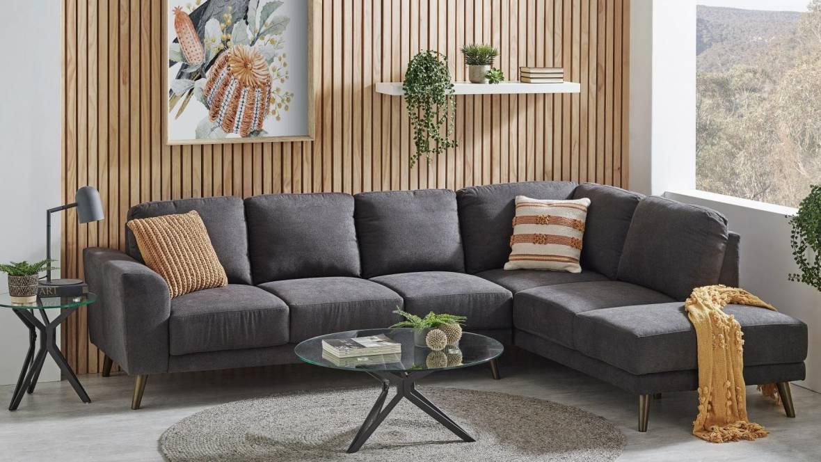 Cooper Fabric Corner Modular Lounge Suite