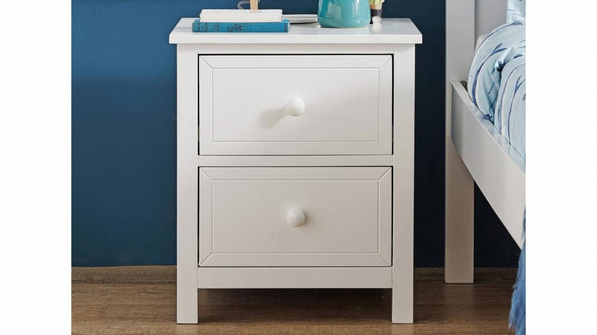 Shelly 2-Drawer Bedside Table