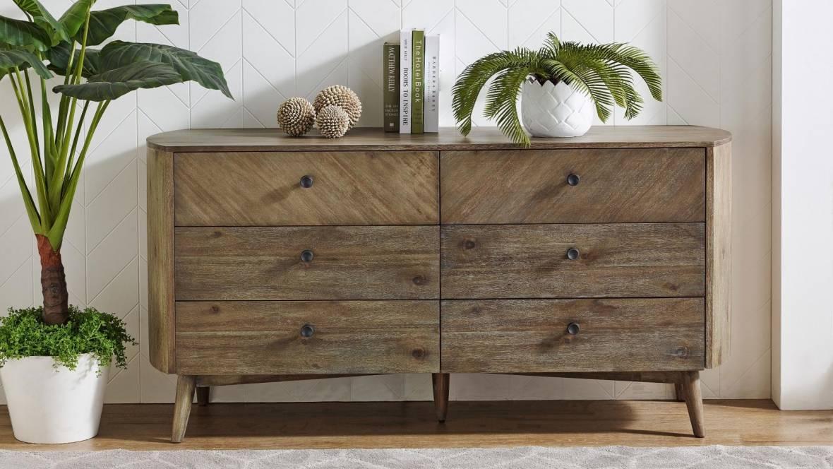 Rialto 6-Drawer Dresser