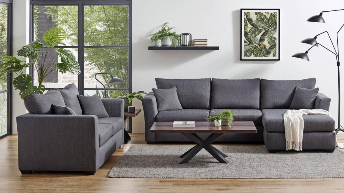 Allendale 2-Piece Fabric Lounge Suite