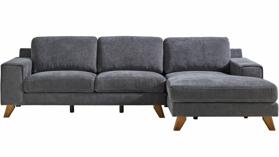 Halle 3-Seater Fabric Sofa with Chaise