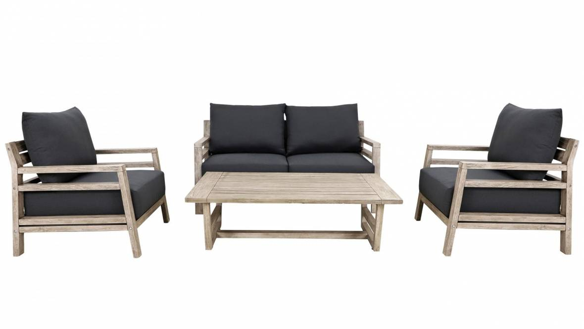 Rees 4-Piece Outdoor Lounge Setting