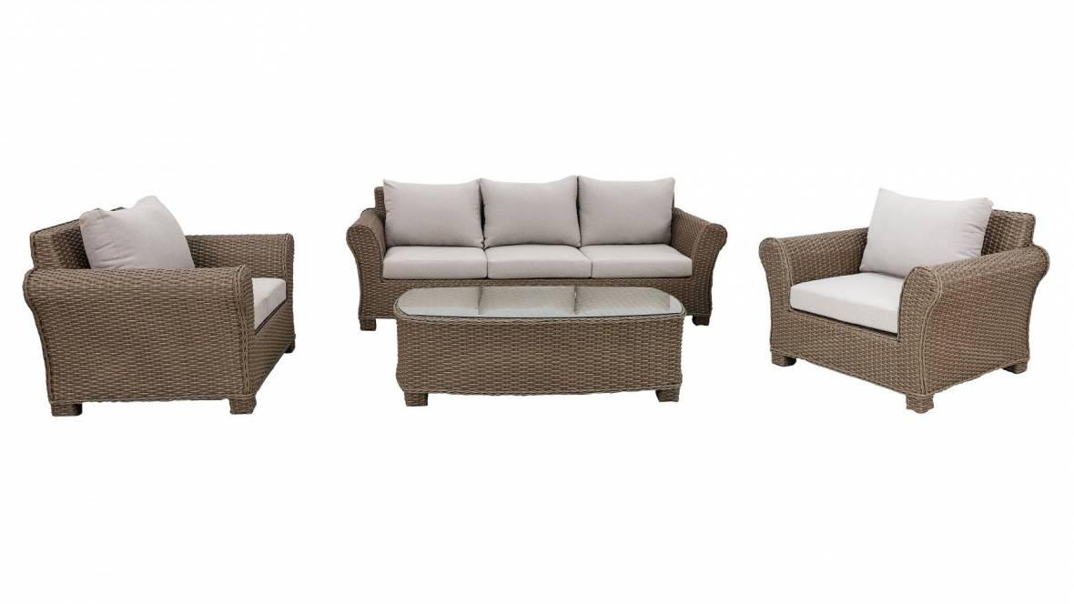 Samana 4-Piece Outdoor Lounge Setting