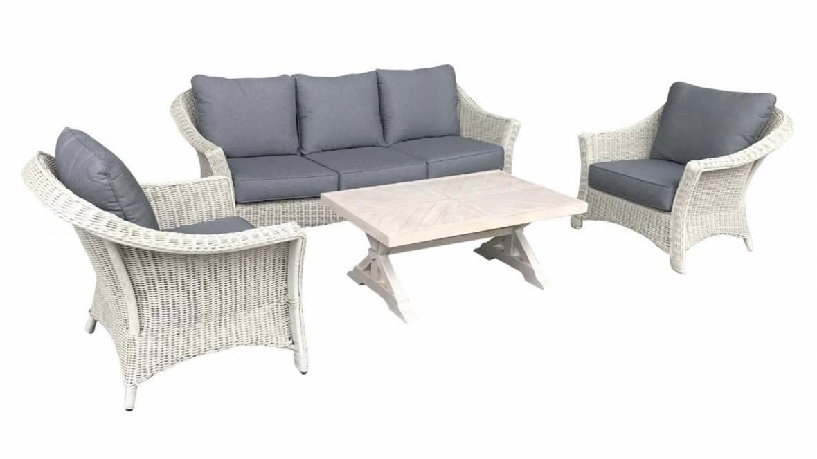 Casa 4-Piece Outdoor Lounge Setting