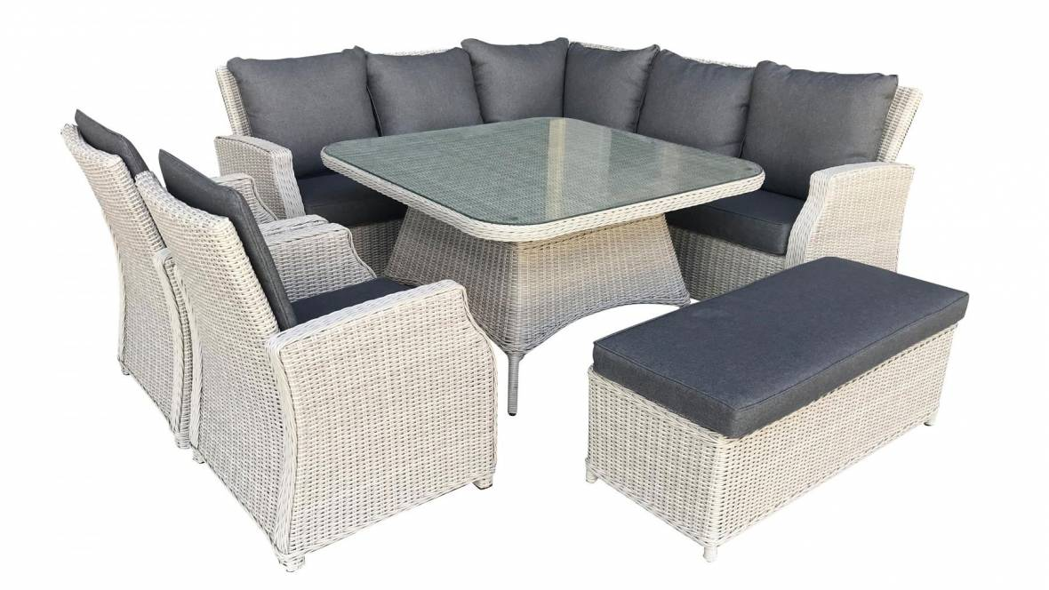 Oxford 7-Piece Outdoor Lounge/Dining Setting