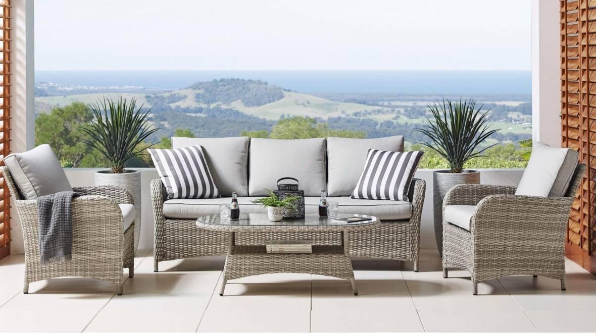 Condor 4-Piece Outdoor Lounge Setting