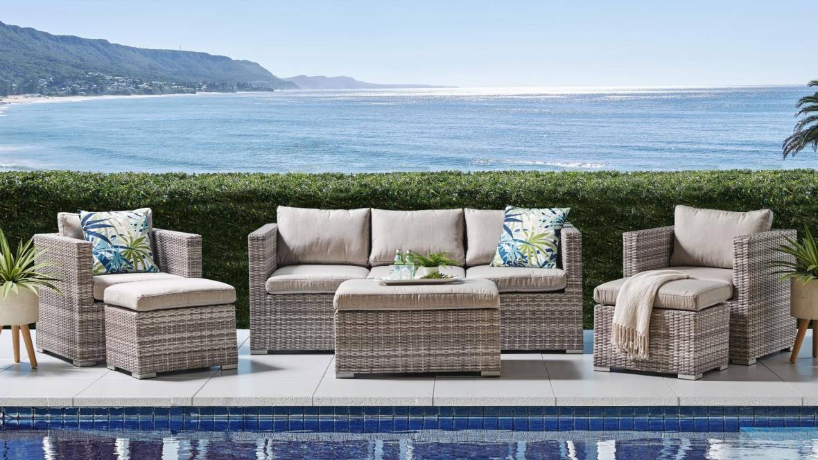 Cove 6-Piece Outdoor Lounge Setting
