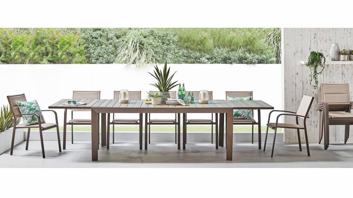 Costello 13-Piece Outdoor Extension Dining Setting