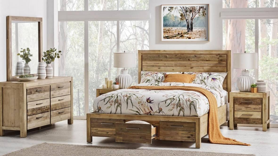 Denver 3-Drawer Queen Bed