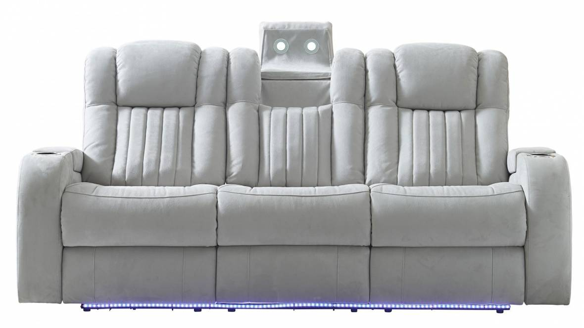 Brockman Fabric Powered Recliner Sofa