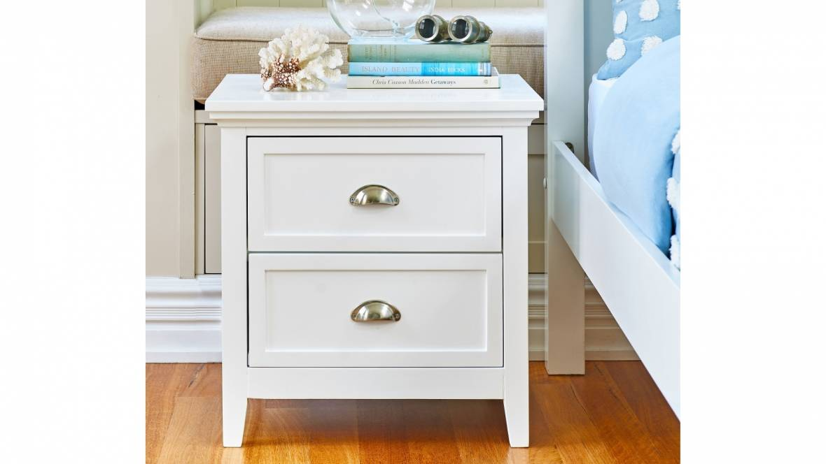 Lilly 2-Drawer Bedside Table