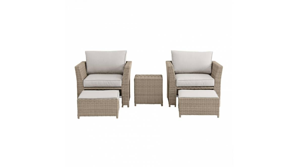 Belbora 5-Piece Outdoor Chat Setting