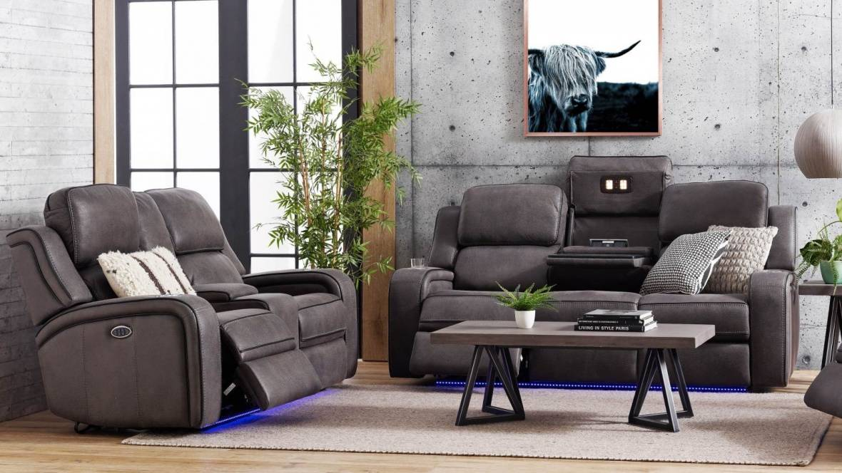 Bradford Fabric Powered Recliner Sofa