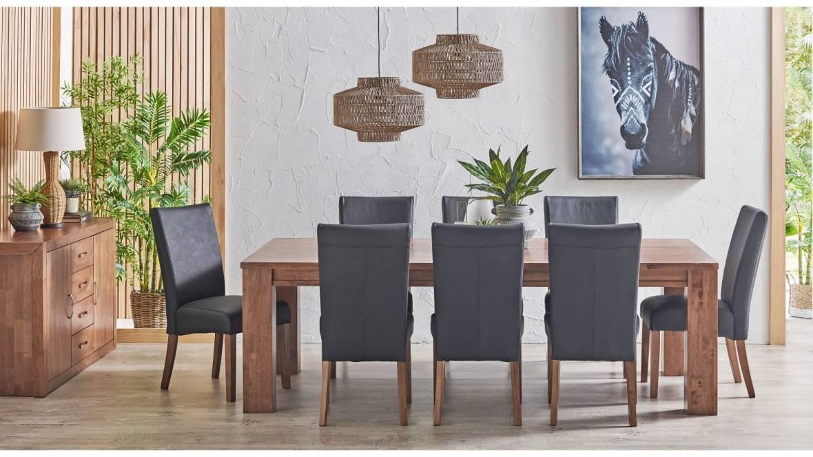 Buy Jasper 9-Piece Rectangular Dining Setting | Harvey ...