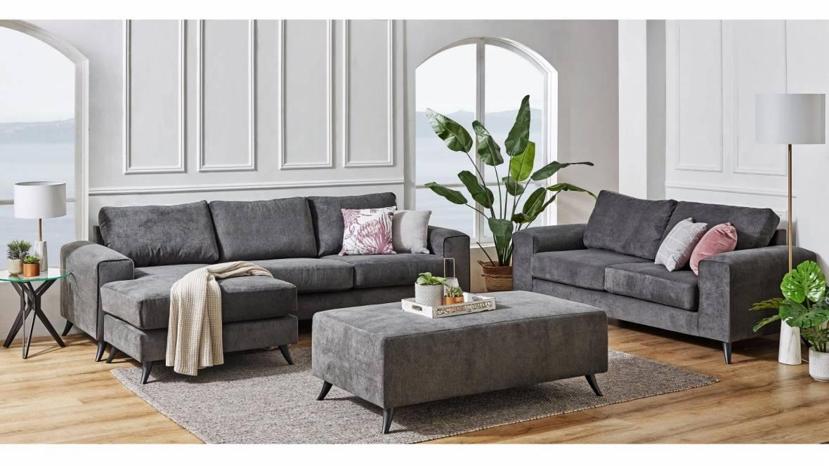 Berwick 3-Piece Fabric Lounge Suite