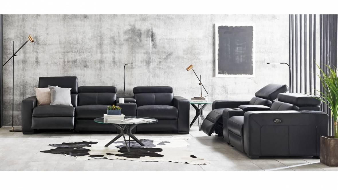 Buy Omnia Leather Sofa Harvey Norman Au
