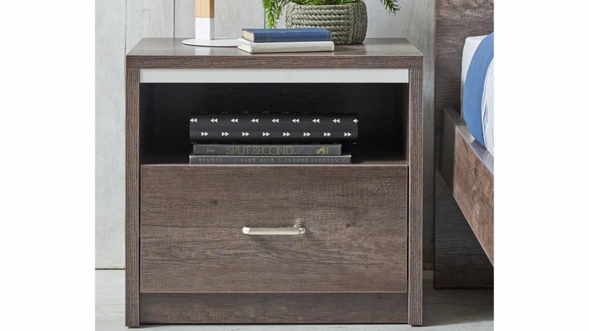 Sterling 1-Drawer Bedside Table