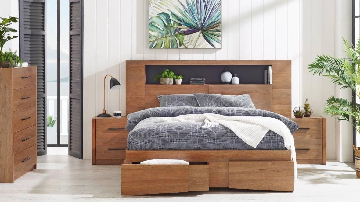 Delta 2-Drawer Bed