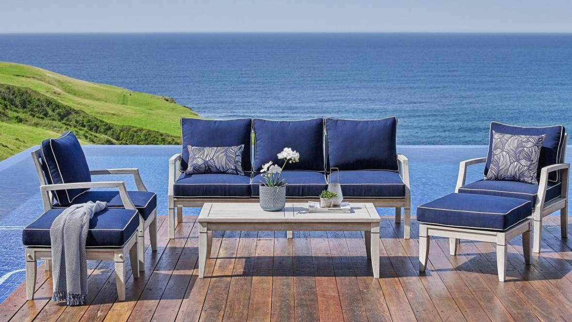 Cesano Outdoor 6-Piece Lounge Setting