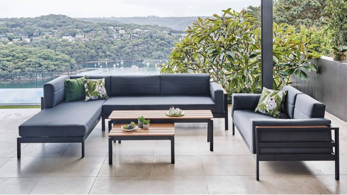 San Remo 5-Piece Outdoor Lounge Setting