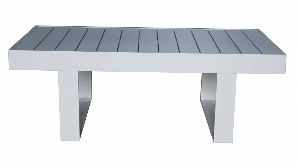 Burano Outdoor White Coffee Table