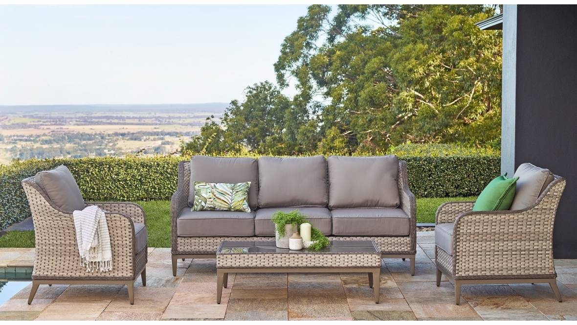 Orlando 4-Piece Outdoor Lounge Setting