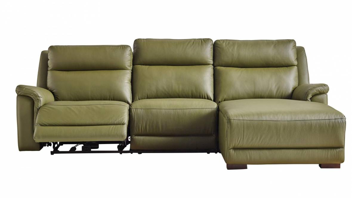 Kade 2.5-Seater Powered Recliner Sofa with Chaise