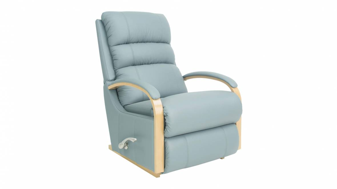 Denniston Leather Rocker Recliner